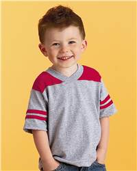 Rabbit Skins 3381 Toddler Football T-Shirt