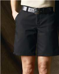 Red Kap Industrial PT27 Ladies' Plain Front Short
