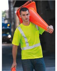 Red Kap Industrial SYK6 High Visibility Safety T-Shirt
