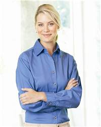 Sierra Pacific 5201 Ladies' Long Sleeve Cotton Twill