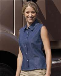 Sierra Pacific 5205 Ladies' Sleeveless Denim