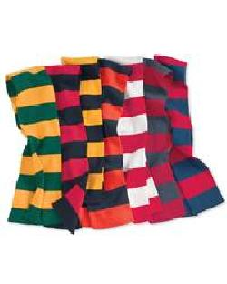Sportsman SP02- Rugby Striped Knit Scarf