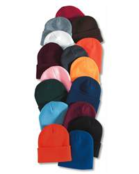 Sportsman Cap SP12 12  Solid Knit Beanie