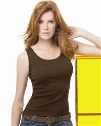 L.A.T Sportswear 3565 Ladies' 2x1 Rib Tank Top