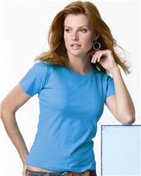 L.A.T Sportswear 3580 Ladies' Scoopneck T-Shirt