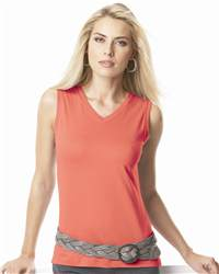 L.A.T Sportswear 3584 Ladies' Sleeveless T-Shirt