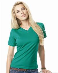L.A.T Sportswear 3587 Ladies' V-neck T-Shirt