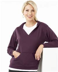 L.A.T Sportswear 3654 Ladies' French Terry Hooded Pullover