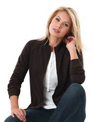 L.A.T Sportswear 3655 Ladies' French Terry Cadet Jacket