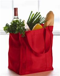 Toppers 0704 Easy Street Grocery Tote
