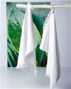 Towels Plus T64GH Fringed Hand Towel with Corner Grommet ...
