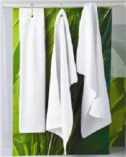 Towels Plus T68TH Tri-Fold Grommeted Hand Towel with ...