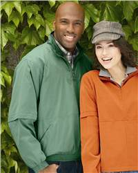 Weatherproof 6105 Microfiber Zip-Off Sleeve Windshirt