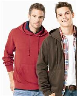 Weatherproof 7688 Weatherwash Hooded Sweatshirt