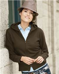Weatherproof W7730 Ladies' Full-Zip Hooded Sweatshirt