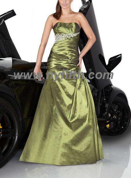 Sexy taffeta with beading Evening dress