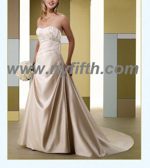 Simple Style Wedding Gown