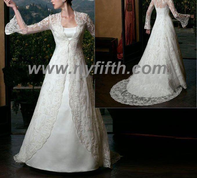 stylish custom bridal gown