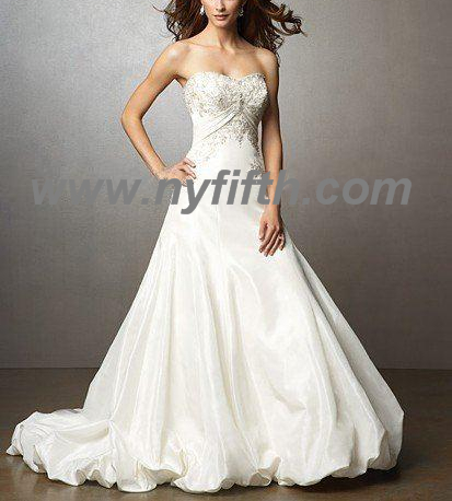 Custom Most Fashional Wedding Dress