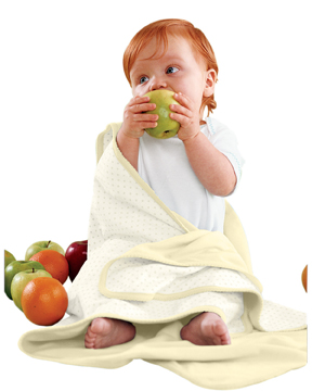 Apples & Oranges KA100 Infant's Jordan Reversible Blanket