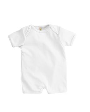 Apples & Oranges KA120 Infant's Andy 1x1 Rib Shortall ...