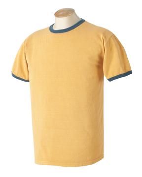 Authentic Pigment 1946 - 5.6 oz. Pigment-Dyed Ringer T-Shirt