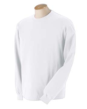 Authentic Pigment 1971 - 5.6 oz. Pigment-Dyed & Direct-Dyed Ringspun Long-Sleeve T-Shirt