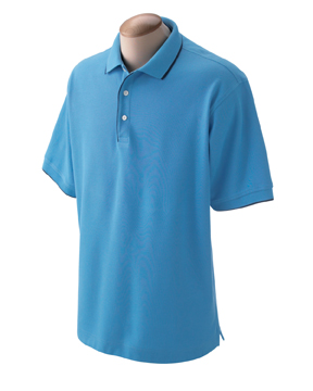 Devon & Jones D120 Men's Tipped Piqu  Polo