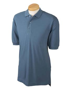 Devon & Jones D130GR Men's Organic Piqu  Polo