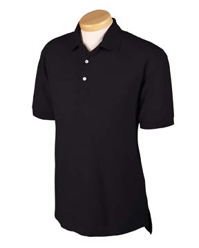 Devon & Jones D153GR Men's Recycled Pima M lange Piqu  Polo