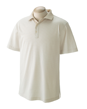 Devon & Jones D350 Men's Northport Jersey Striped Polo