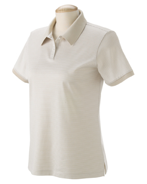 Devon & Jones D350W Ladies' Northport Jersey Striped Polo