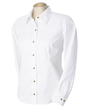 Devon & Jones D555W 女士长袖衬衣