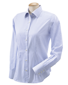 Devon & Jones D600W Ladies' Savile Patterned Dress Shirt
