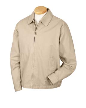 Devon & Jones D725GR Men's Organic Cotton Club Jacket