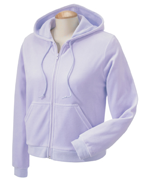 Devon & Jones DP405W Ladies' Velour Hoodie