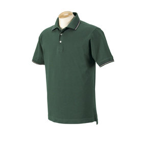 Harvard Square HS360 Men's Pima Reserve Tipped Polo