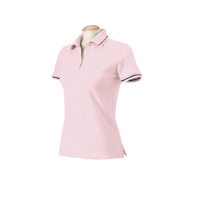Harvard Square HS360W Ladies' Pima Reserve Tipped Polo