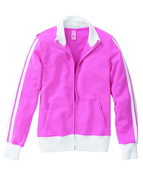 Hyp HY210 Ladies' 7 oz. Raleigh French Terry Track Jacket