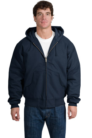 CornerStone® J763H Duck Cloth Hooded Work Jacket