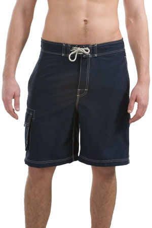 District Threads DT405  Contrast Waist Boardshorts.