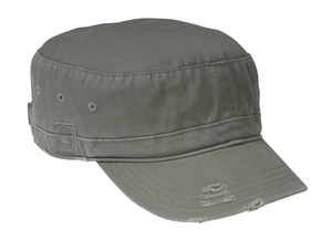 District Threads DT605 Distressed Military Hat.