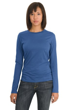 District Threads DT201 Junior Ladies Long Sleeve Perfect Weight District Tee.