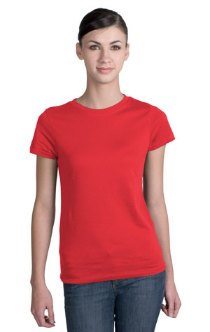 District Threads DT200 Junior Ladies Short Sleeve Perfect Weight District Tee.