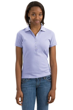 District® DT3010 Juniors Stretch Pique Polo