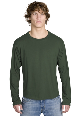 District Threads DT105 Long Sleeve Perfect Weight ...