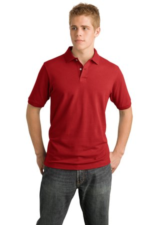 District Threads DT3000 Modern Pique Polo.