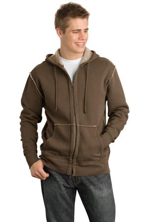 District® DT139 Vintage Fleece Full-Zip Hoodie