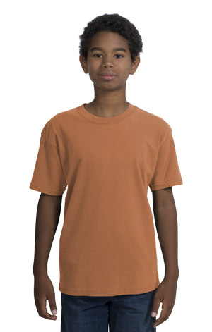 District Threads DT099Y Youth Pigment-Dyed Tee.