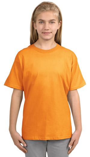 Gildan 2000B  Ultra CottonYouth 100% Cotton T-Shirt.